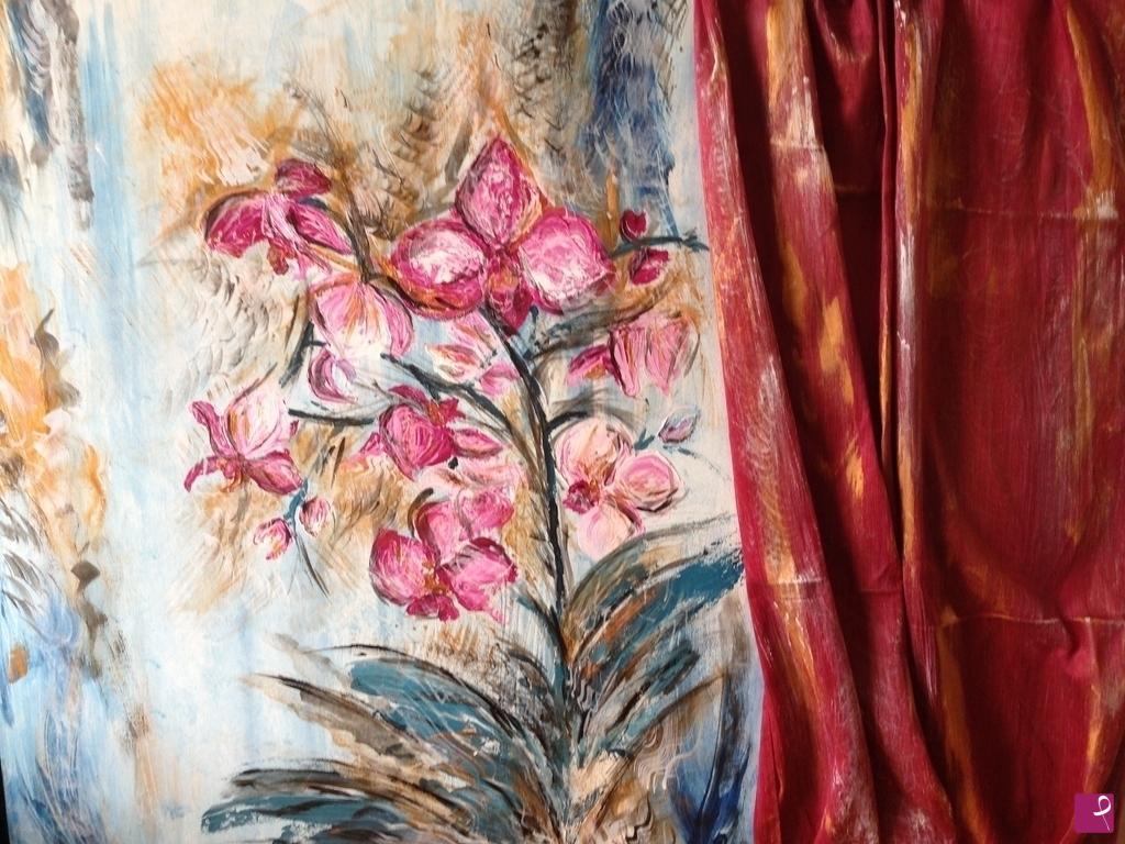 Vendita quadro orchidee sp pitturiamo for Quadri moderni orchidee