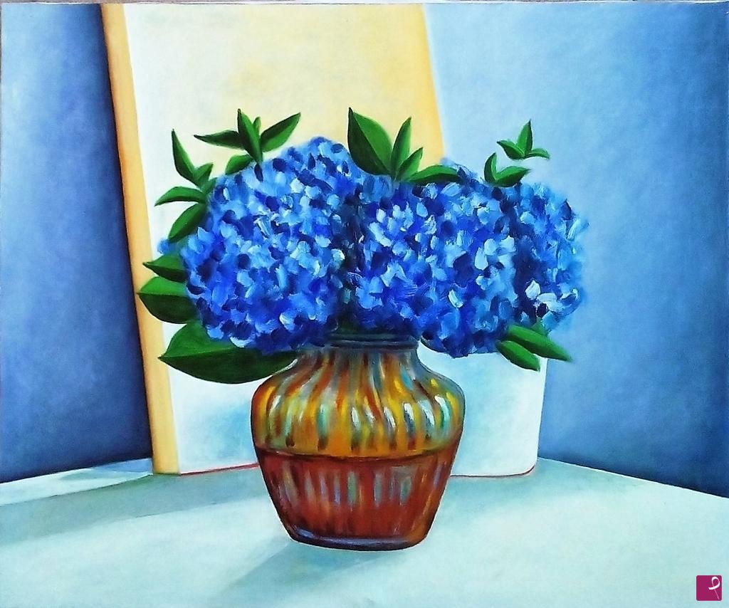 Vendita quadro ortensie recise in vaso 2014 valerio for Ortensie in vaso