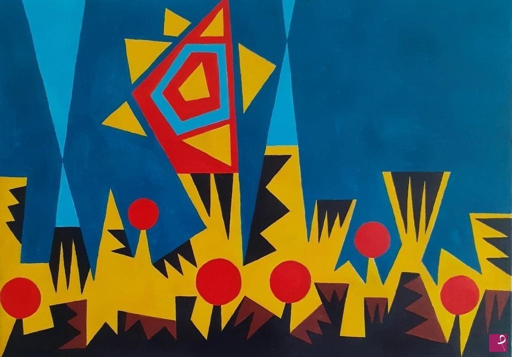 Vendita quadro paesaggio astratto abstract landscape cean