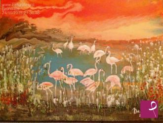 Vendita quadro nel mare dipinto di blu matteo sugars pitturiamo®