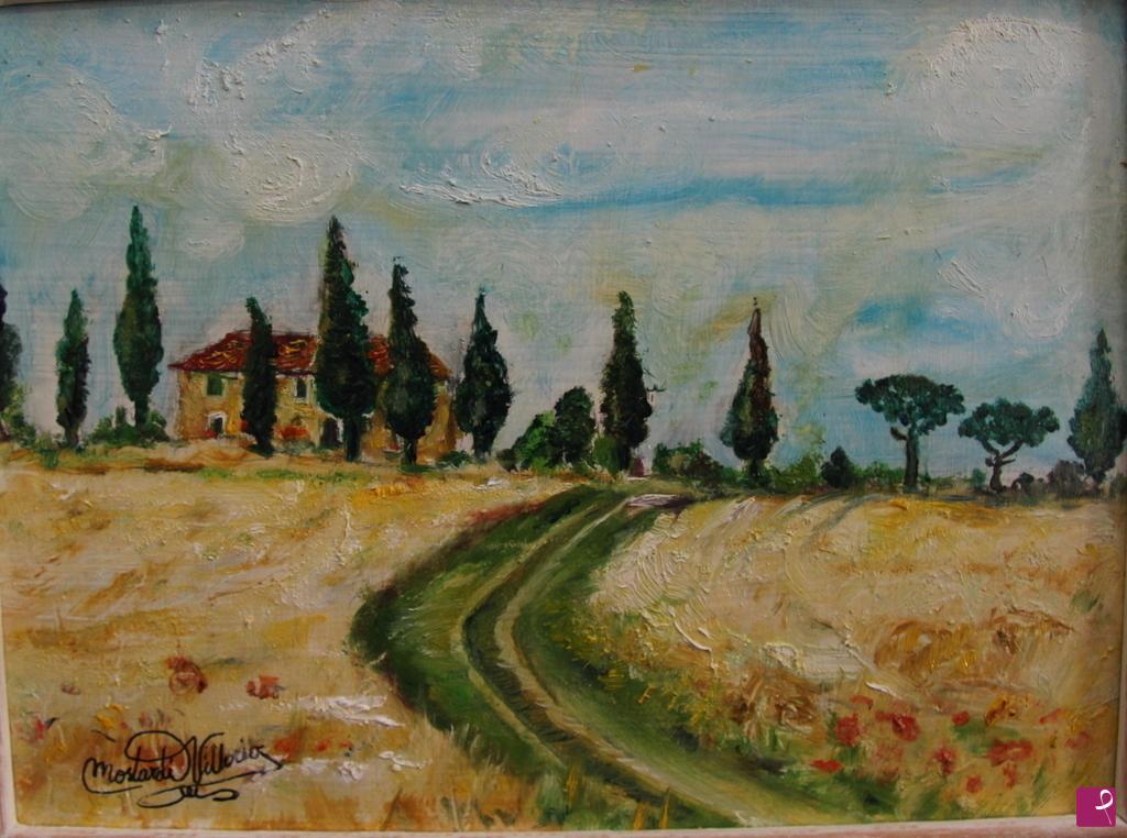 Vendita quadro - paesaggio toscano - Vikmos | PitturiAmo®