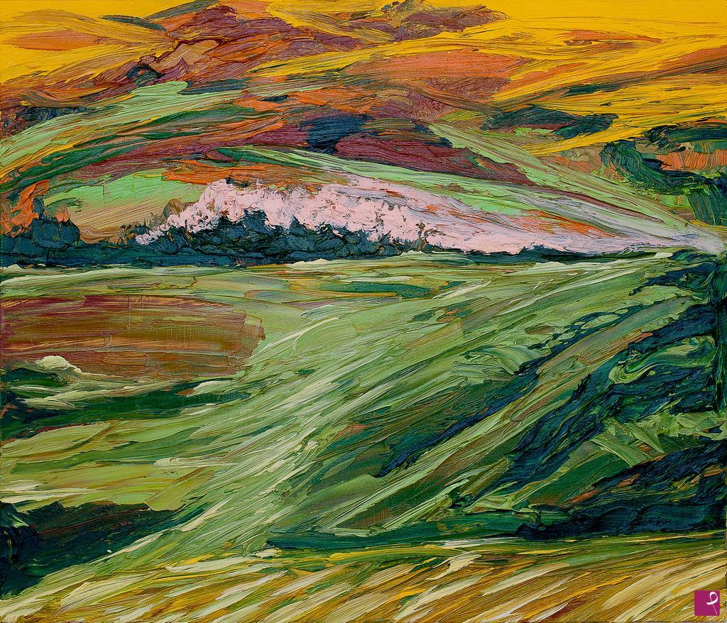 Vendita quadro - Paesaggio Toscano - Frank\'o | PitturiAmo®