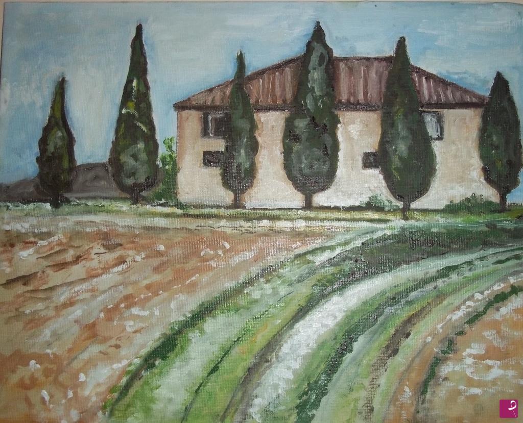 Vendita quadro - paesaggio toscano - Francesca Cei | PitturiAmo®