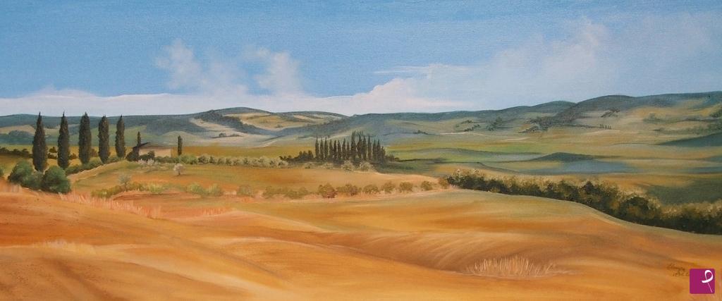 Vendita quadro - Paesaggio Toscano - Eleonora Arte | PitturiAmo®