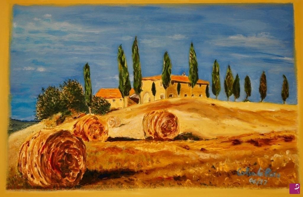 Vendita quadro - paesaggio toscano - Francesco Calia Di Pinto ...