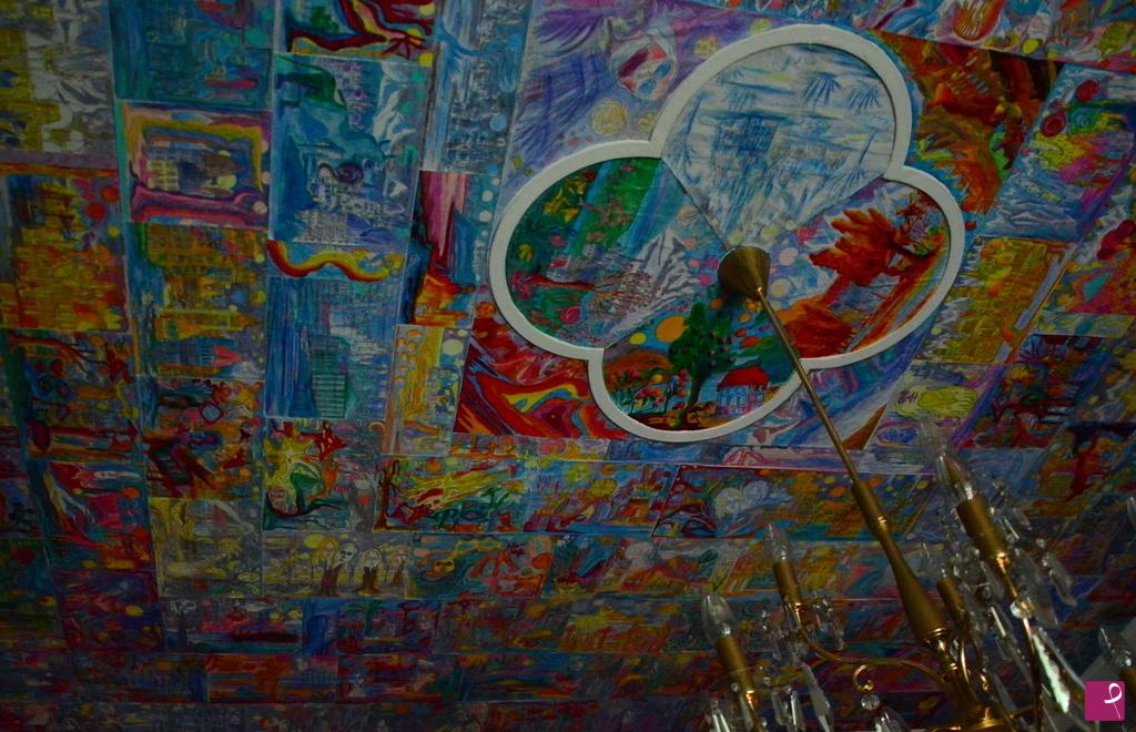 Vendita quadro particolare dei pseudo affreschi del for Design della camera degli ospiti
