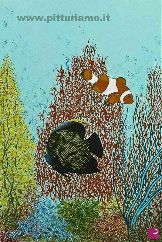 Vendita quadro pesci tropicali pietro paolo santurbano for Vendita on line pesci tropicali
