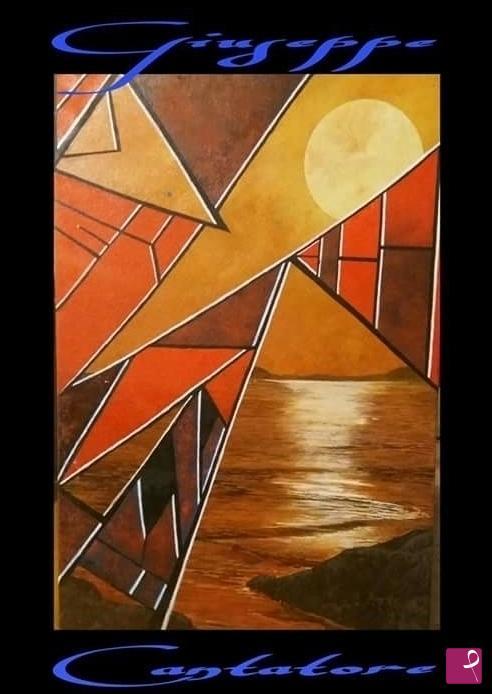 Vendita quadro - Quadro astratto moderno olio su tela media ...