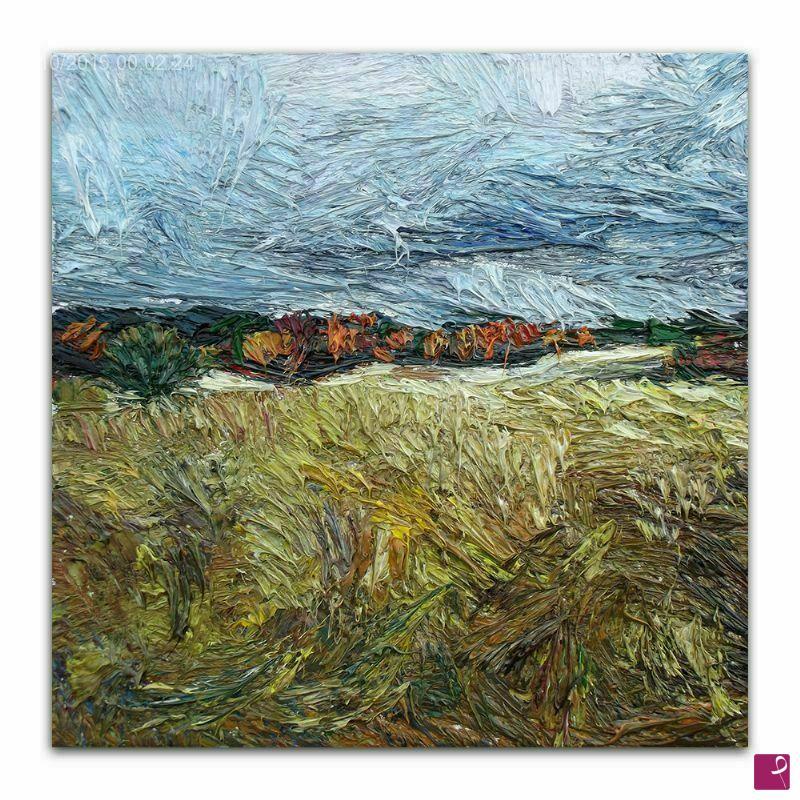Vendita quadro - Quadro astratto moderno piccolo olio su tela - Lia ...