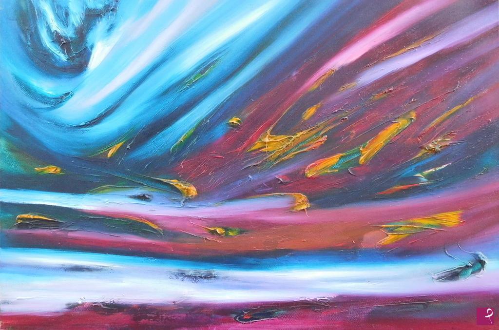 Vendita quadro ritocco di fiamme davide de palma pitturiamo