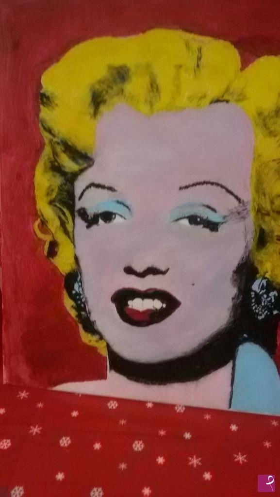 Vendita quadro - Ritratto di Marilyn Monroe - Pierre Saba | PitturiAmo®