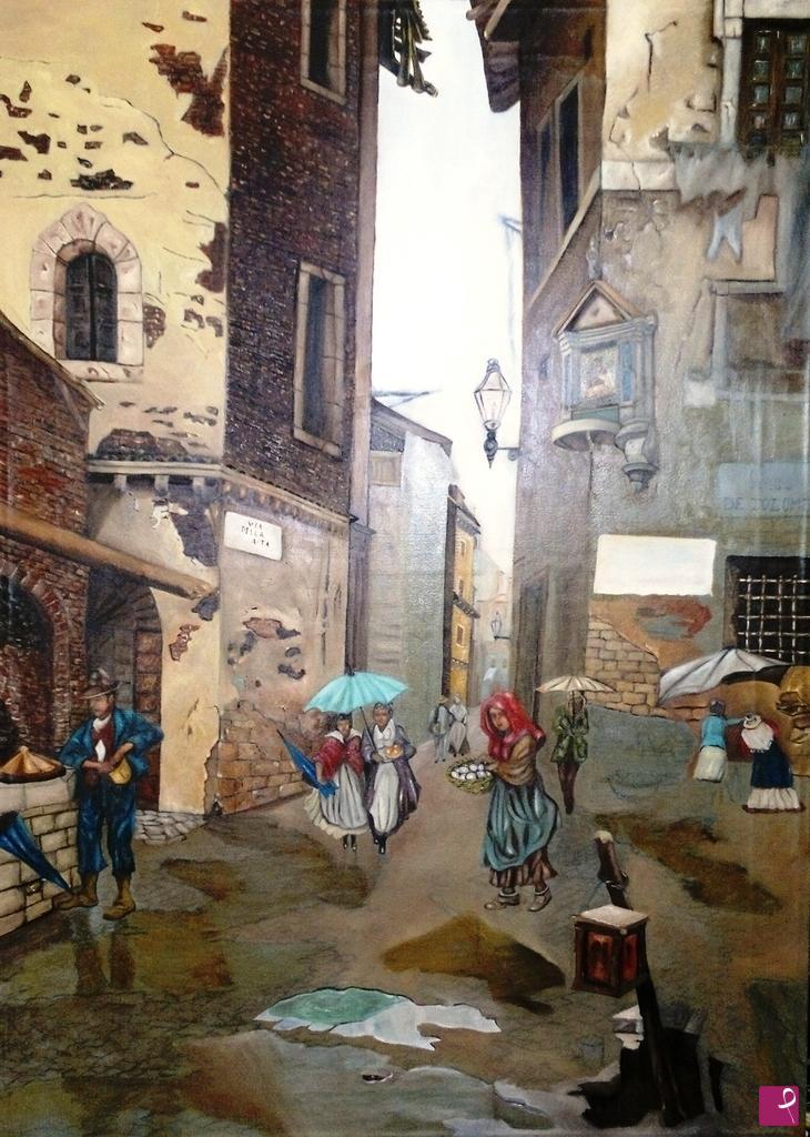 Quadri Moderni Roma Vendita disponibile quadro - roma sparita - salvatore giardina