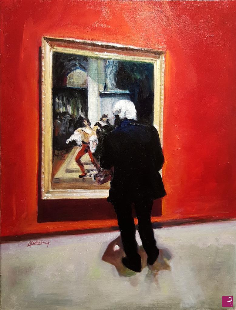 Vendita quadro - Romanticismo a Milano - Laura Mantovani | PitturiAmo®