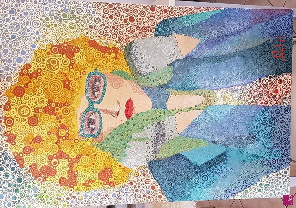 Vendita quadro senza titolo natalia klesyak pitturiamo