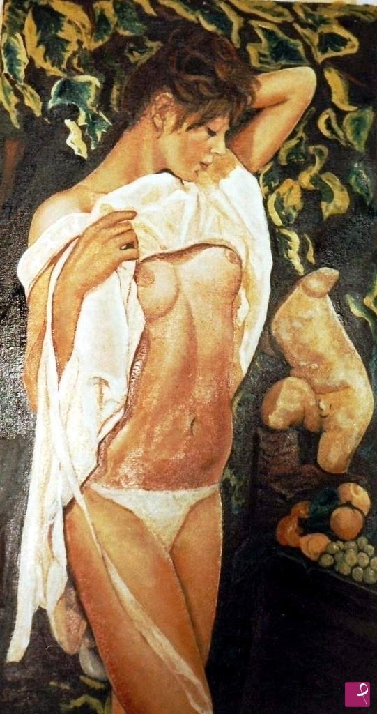 Vendita quadro - Studio accademico di nudo - Tomo | PitturiAmo®