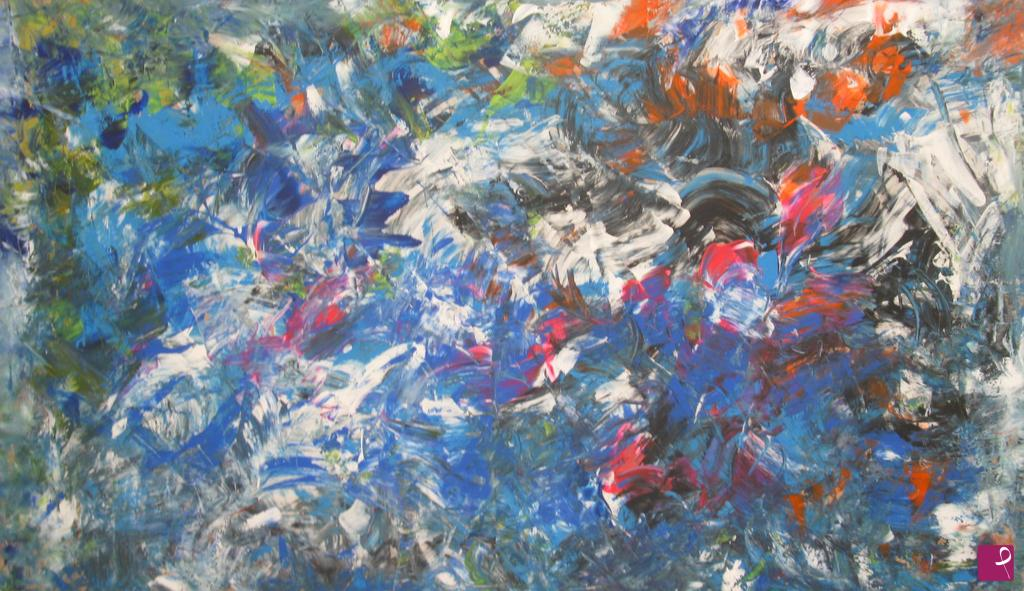 Quadro dipinto a mano pittura olio o acrilico su tela arte