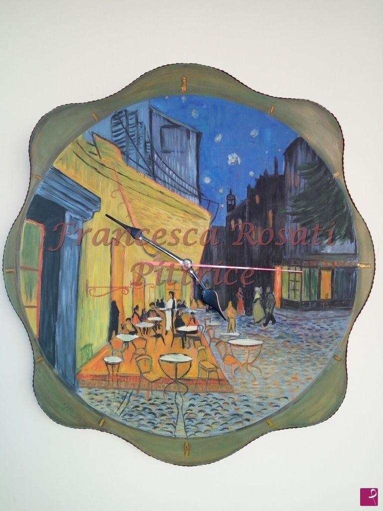 Collezione Privata Quadro Terrazza Del Caffe La Sera Place