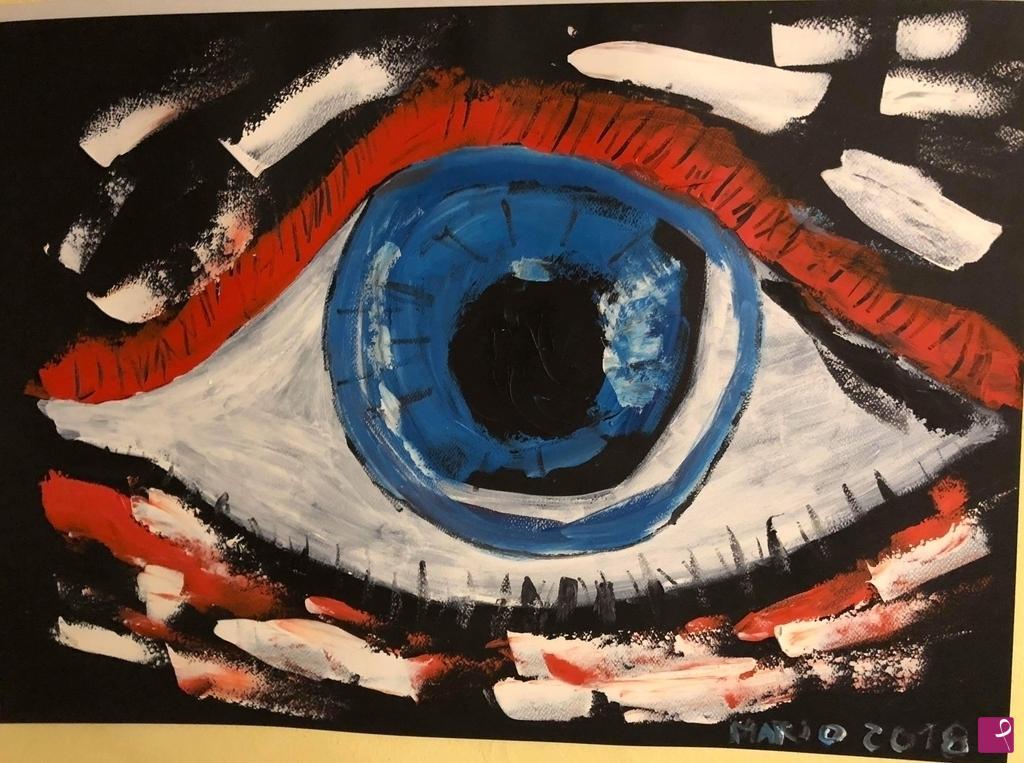 Vendita quadro the eye marius pitturiamo