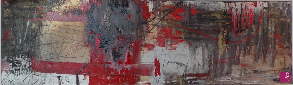 Vendita quadro red passion gina fortunato pitturiamo