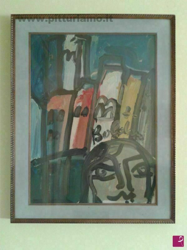 Vendita quadro - Uomo a Milano - Gustavo Boldrini 1974 - Antonio ...