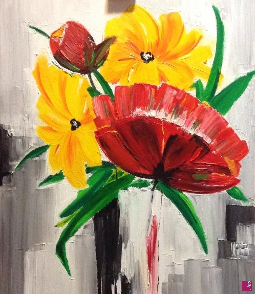 Vendita quadro - Vaso di fiori - Art_mars | PitturiAmo®