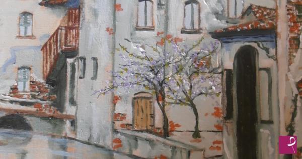 Vendita quadro - vecchia Milano - Fabio Battipaglia | PitturiAmo®