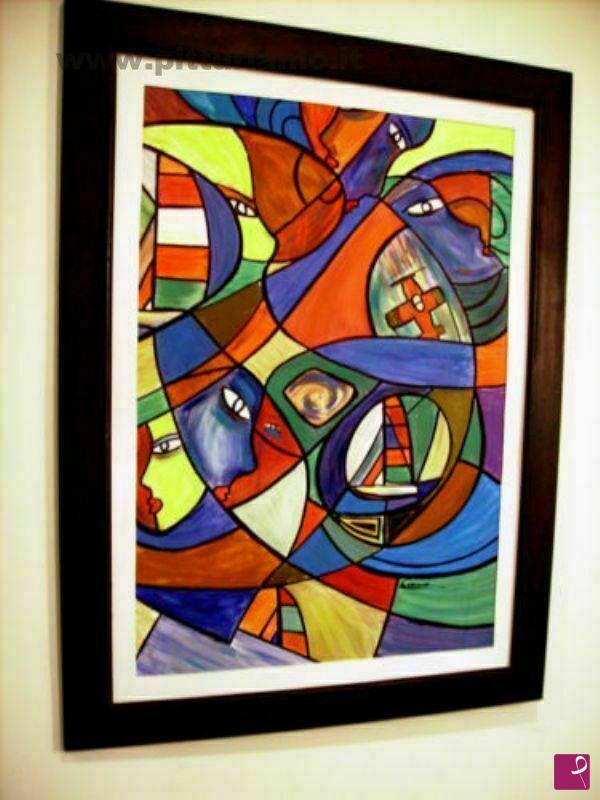 Vendita quadro musica di fuori gabriella arteterra pitturiamo